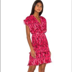 Kenzo Peonie Print Soft Flare Dress